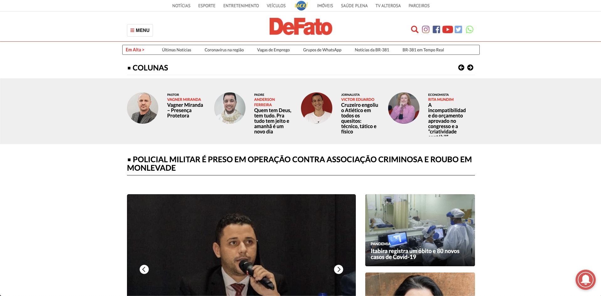 DeFato Online