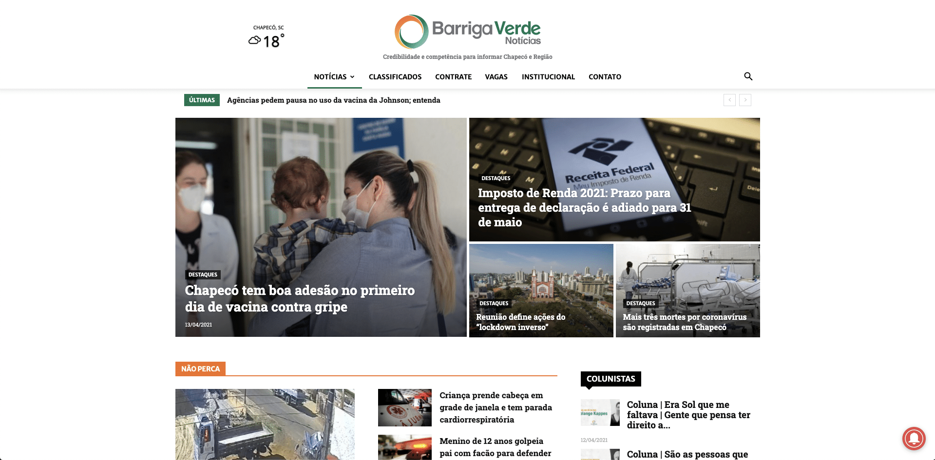 Barriga Verde Notícias